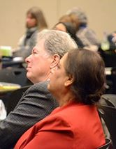People at 2015 E.C. Moore Symposium